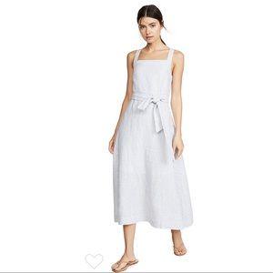 AYR The Porch Striped midi Dress XS
